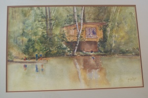 Jean Bradley Hart Lake Painting