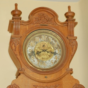 1853 Waterbury clock