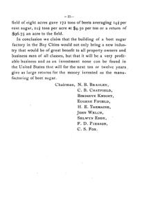 Beet Sugar page11